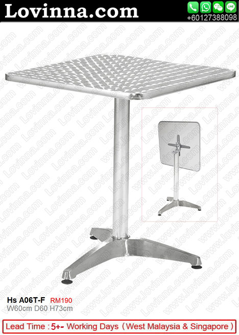 aluminum table legs
