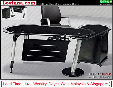 glass office table online
