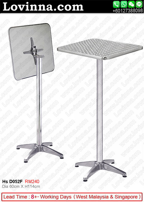 High Folding Table