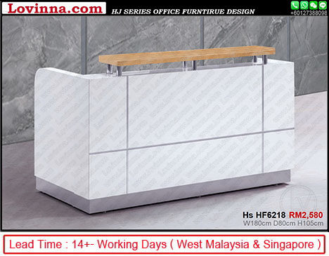 l reception desk