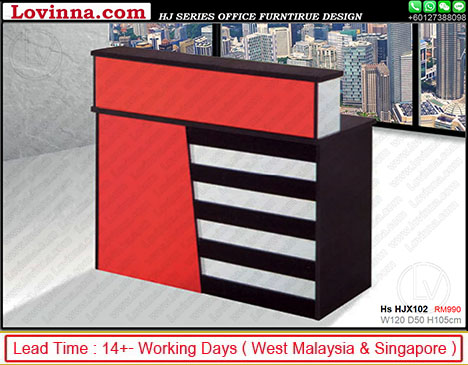 small reception desk for sale