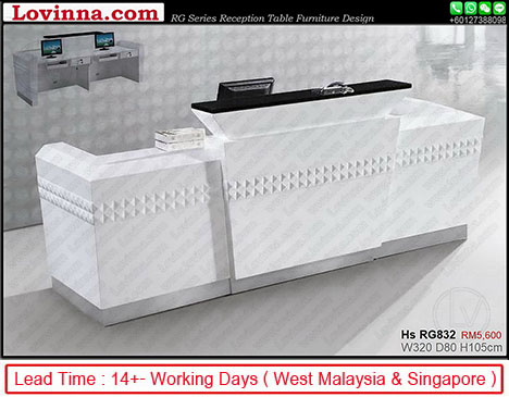 standing reception desk