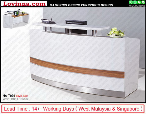 industrial reception desk