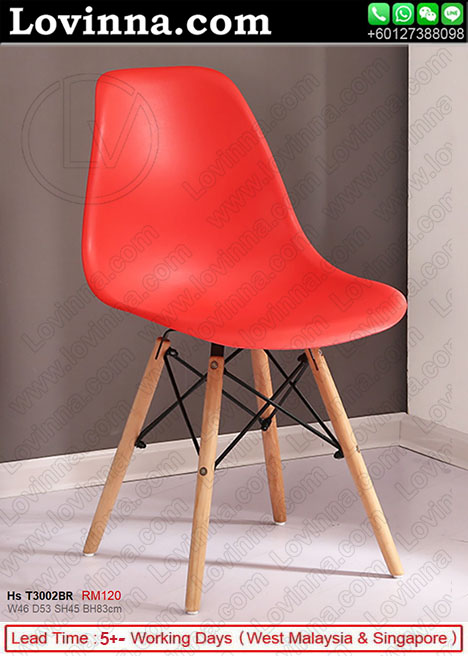 Red cadeiras eames