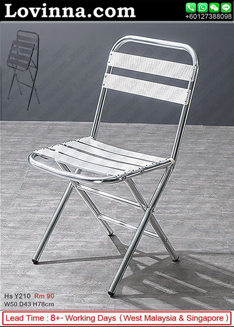 aluminum chair folding
