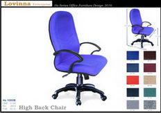 Malaysia Office High Back Chair