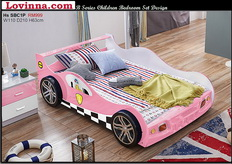 kid's bed car