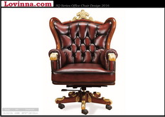 Classic leather chairs for office