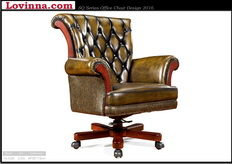 Classic leather office furniture