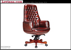 Classic office leather chairs