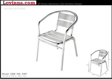 Lovinna Aluminum Chair 5 Board