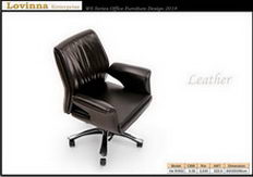 modern leather desk chair
